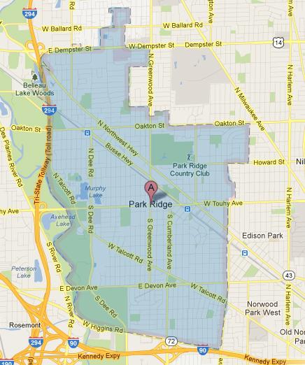 park_ridge_map